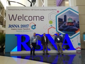 E.H. BUTLAND CORP – Accepted into and Exhibits at the RSNA 2017 Annual Meeting in Chicago