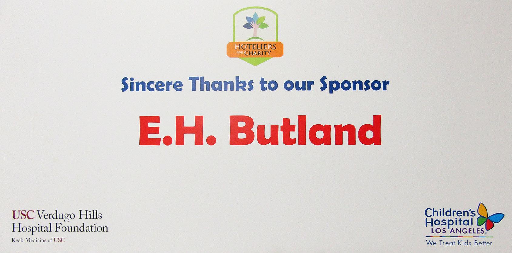 Children's Hospital Sponsor